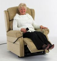 Repose Rimini Single Tilt in Space Bariatric Rise & Recline Chair
