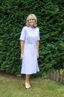 Richmond Short Sleeve Wrap Over Dress