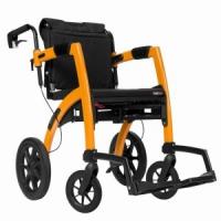 Rollz Motion 2 In 1 Rollator Transit Chair