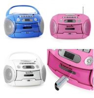 Switch Adapted Auna Boomberry Portable Boombox