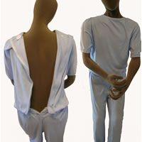 Mens All-in-one Sleepsuit Interlock Pyjamas