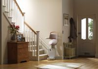 Stannah Sadler Stairlift for Curved Stairs