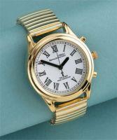 Ladies Gold Radio Controlled Talking Wristwatch