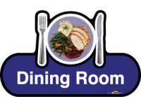 Dining Room Signage