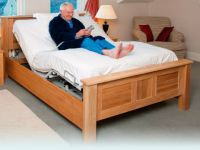Theramatic Heavy Duty Variable Height And Profiling Bed