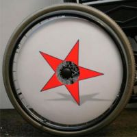 Printed Wheelchair Spoke Guards