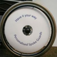 Design Your Own Wheelchair Spoke Guards