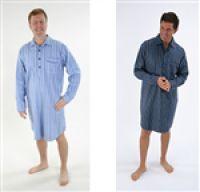 Mens Brushed Cotton Nightshirts