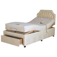 Full-divan Style Fixed-height Profiling Adjustable Bed