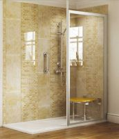 Coniston Full Height Shower Screen