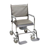 Nrs Wide-fixed Height Wheeled Commode