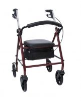 4 Wheel Steel Rollator