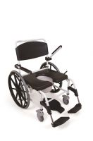 Mediatric Heavy Duty Self Propelled Showering Commode Chair