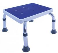 Aluminium Shower Stool-bath Step With Rubber Top
