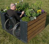 Terraform Wheelchair Accessible Garden