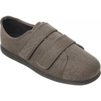 Cosyfeet Extra Roomy Fabric Mens Shoes