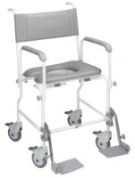 Aquamaster Attendant Propelled Shower And Toileting Chair
