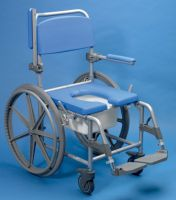 Deluxe Lightweight Self Propelled Shower Commode Chair