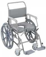 Transaqua Stainless Steel Self Propelled Shower Chairs