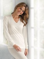 Womens Pure Silk Thermals