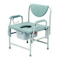 Blackwell Static Bariatric Commode With Hinged Arms