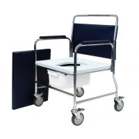 Aldershot Heavy Duty Mobile Commode