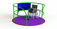 Ability SpaceDisk Wheelchair Accessible Roundabout