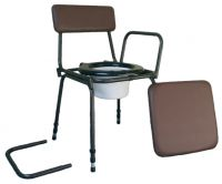 Surrey Height Adjustable Commode Chair