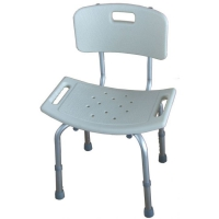 Shower Stool With Back