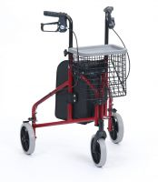 Aluminium 3 Wheel Walker