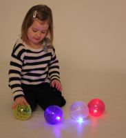 Textured Sensory Light Balls