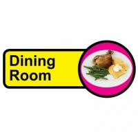 Long Dining Room Sign
