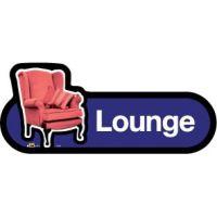Self Adhesive Lounge Sign