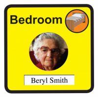 Interchangeable Bedroom Door Sign