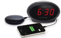 Sonic Traveller Alarm Clock With Bed Vibrator