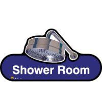 Shower Room Sign