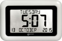 Viso10 Day-date Clear Display Clock