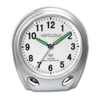 Verbalise Talking Radio Controlled Calendar Alarm Clock