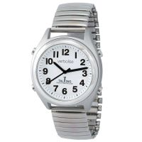 Verbalise Precision Radio Controlled Talking Calendar Alarm Watch