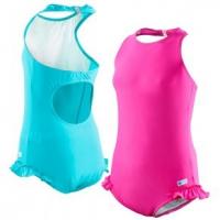Kes-vir Girls Halter-neck Swimsuit