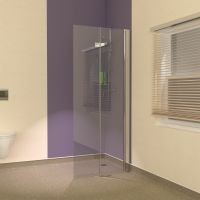 Easy Access Wet Room Shower Screens