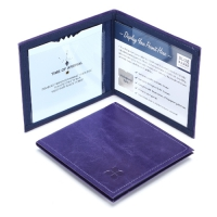 Leather Disabled Badge Wallet