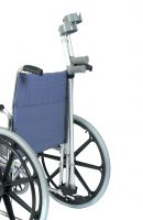 Crutch & Walking Stick Holder For Wheelchairs