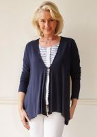 Molly Jersey Waterfall Cardi