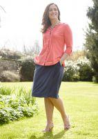 Debbie Jersey Wrap Skirt