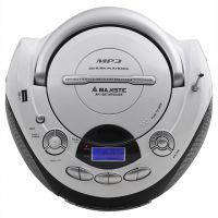Majestic AH1287WH Switch Adapted CD Player