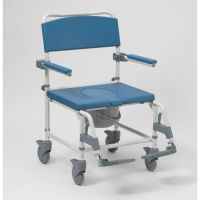 Aston Transit Commode Mobile Shower Chair