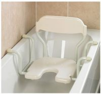 White Line Suspended Bath Seats