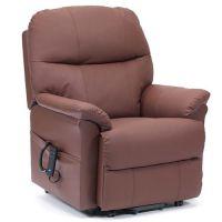 Lars Leather Dual Motor Riser Recliner Chair