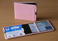 Blue Badge And Parking Clock Wallet